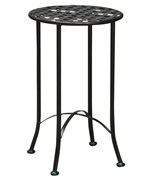 Wrought Iron Plant Table - Lattice Top
