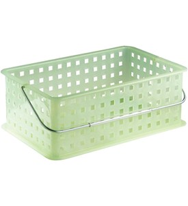 Stackable Plastic Storage Baskets - Medium Image