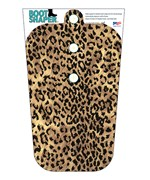 Plastic Boot Shapers - Leopard
