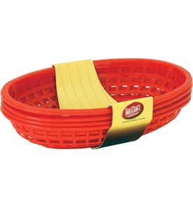 Plastic Food Baskets (Set of 4) Image