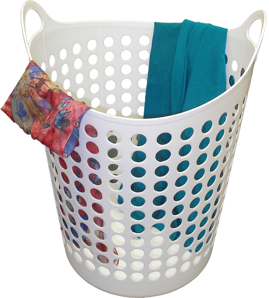 plastic laundry hamper in clothes hampers. Black Bedroom Furniture Sets. Home Design Ideas