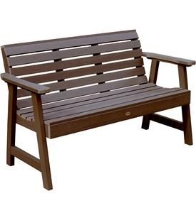 Plastic Outdoor Bench Image