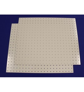 Plastic Pegboard - 18 Inches x 22 Inches (Set of 2) Image