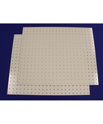 Plastic Pegboard - 18 Inches x 22 Inches
