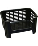 Stackable Storage Bin - Black