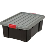 Plastic Storage Box - Black
