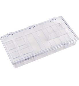 Plastic Storage Case - 12 Section Image