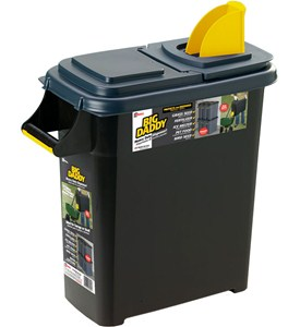 Plastic Storage Container and Dispenser Image