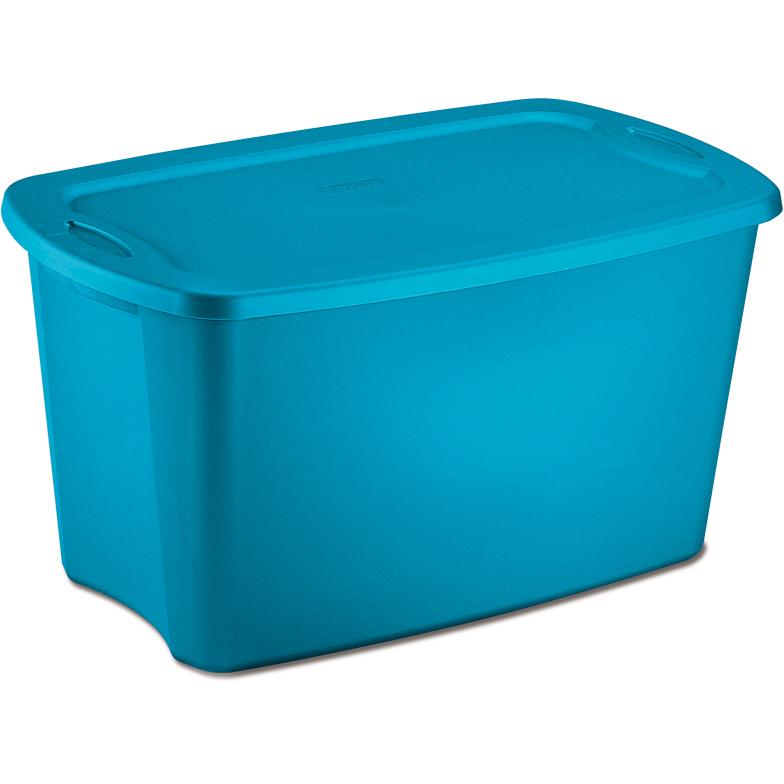 Plastic Storage Tote 30 Gallon In Plastic Storage Boxes