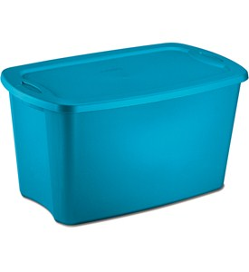 Plastic Storage Tote - 30 Gallon Image