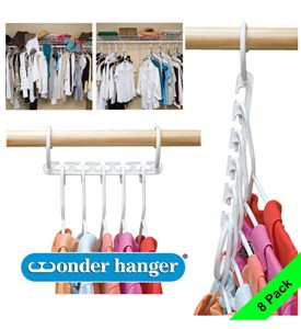 Plastic Wonder Hangers (Set of 8) Image