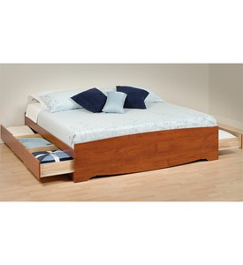 Platform Storage Bed - King Sized Image