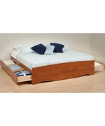 Platform Storage Bed - King Sized