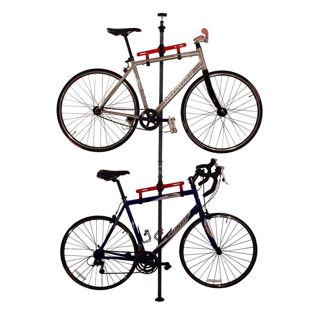 platinum tension mount bike rack in bike stands. Black Bedroom Furniture Sets. Home Design Ideas