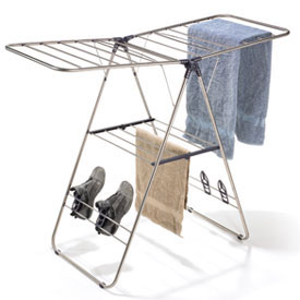 Stainless Steel Collapsible Drying Rack Image