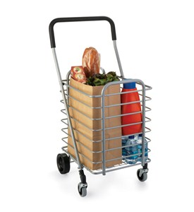Collapsible Aluminum Shopping Cart Image