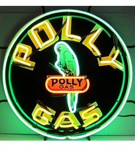Polly Gas Neon Sign by Neonetics Image