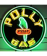 Polly Gas Neon Sign by Neonetics