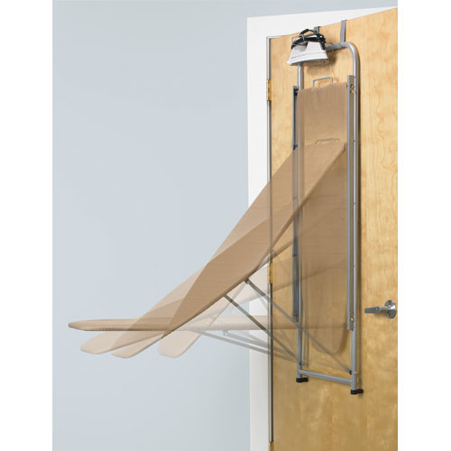 Exceptional Over The Door Ironing Board And Iron Holder Image