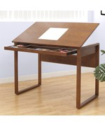 Ponderosa Wooden Drafting Table by Studio Designs