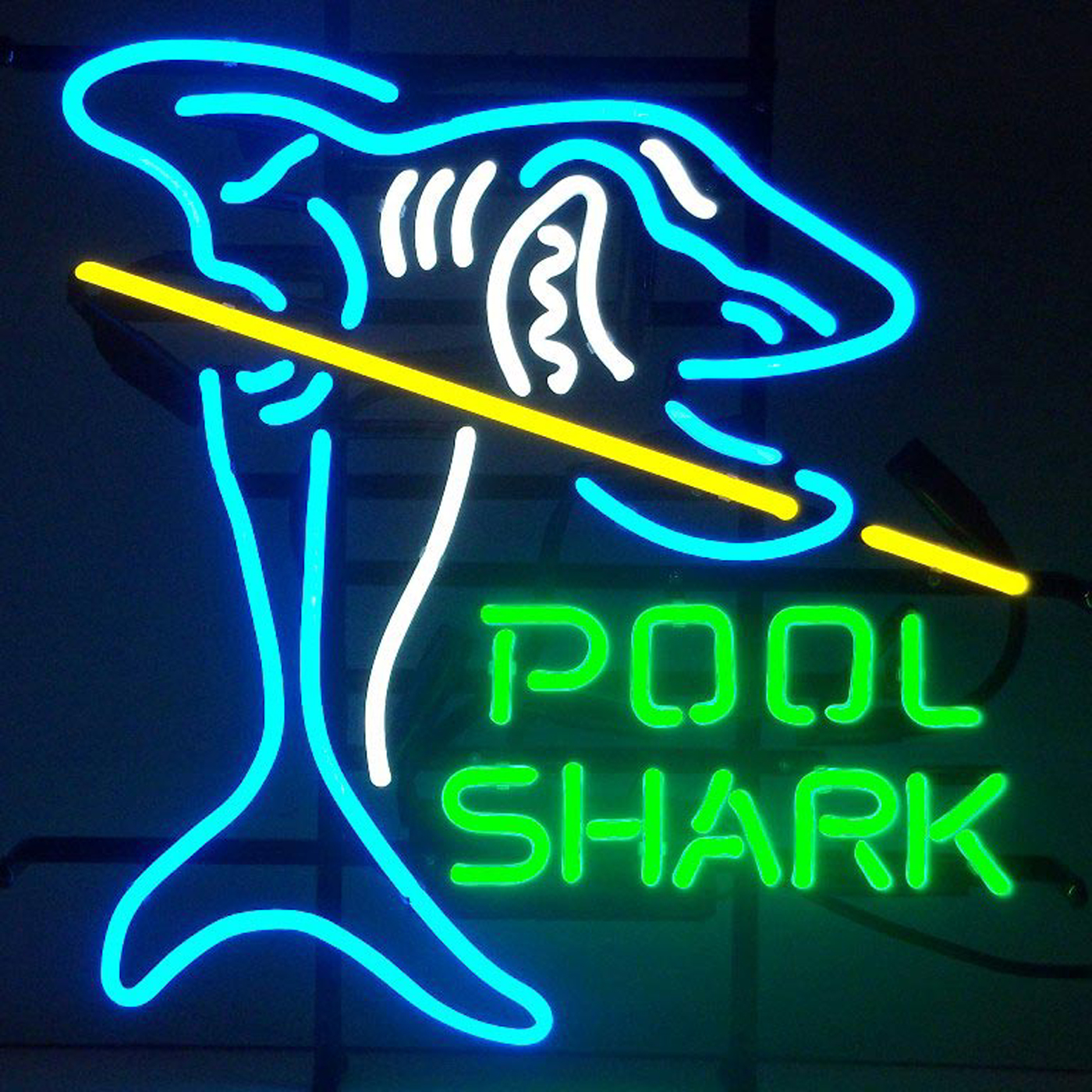 Pool Shark Neon Sign by Neonetics in Neon Signs