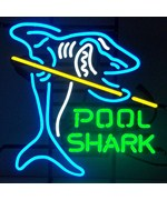Pool Shark Neon Sign by Neonetics