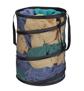 Pop-Up Mesh Laundry Bag Image