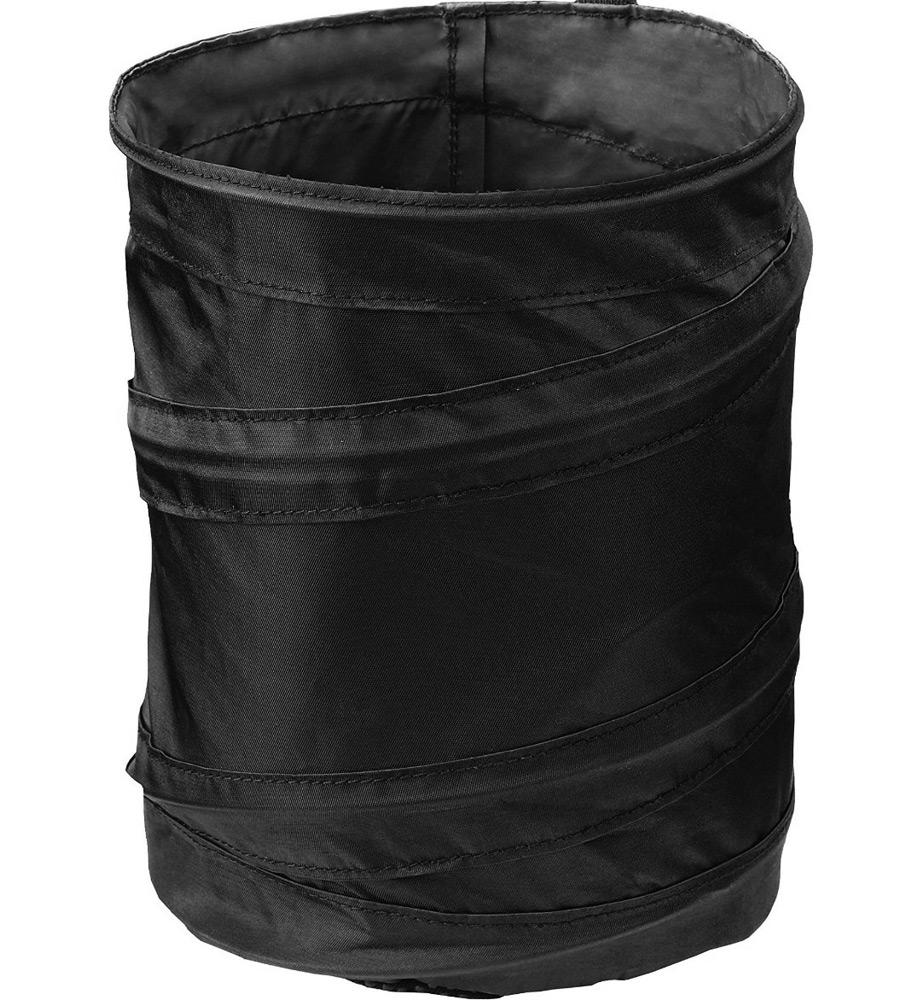 pop up auto trash can in car trash bags. Black Bedroom Furniture Sets. Home Design Ideas