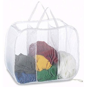 Pop Up Triple Laundry Sorter Image