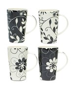 Porcelain Coffee Mugs - Daisy May