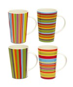 Porcelain Coffee Mugs - Lollypop