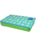 Portable Laptop Desk - Green and Blue