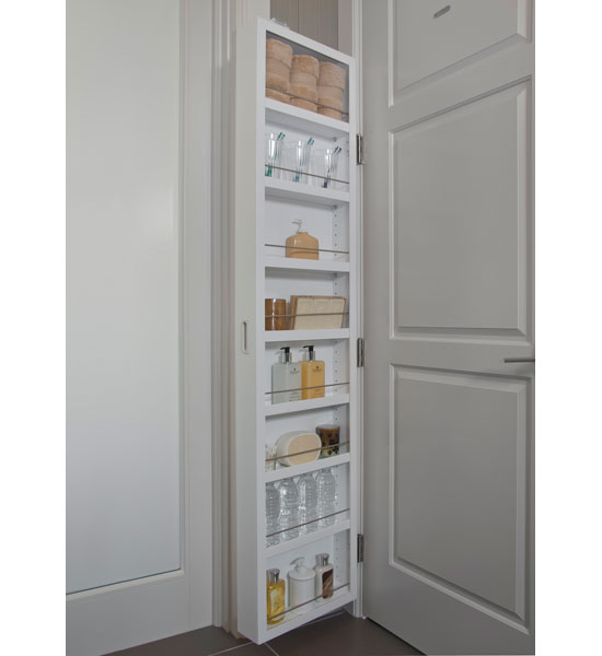 Portable Storage Closet - Mounted Image  sc 1 st  Organize-It & Portable Storage Closet - Mounted in Behind the Door Storage