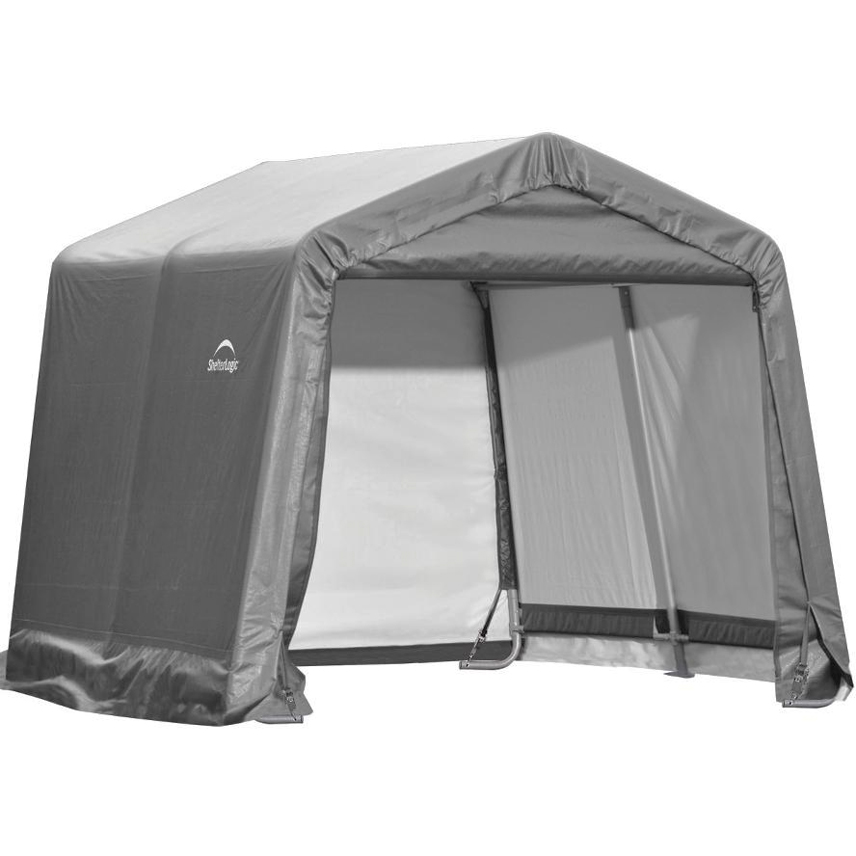 ShelterLogic Portable Storage Shed in Storage Sheds