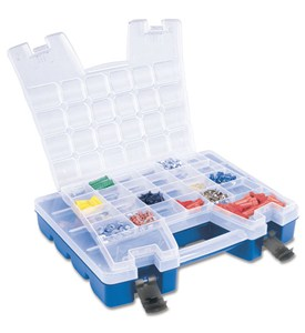 Portable Lid-Storage Divided Organizer Image