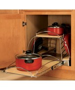 Pull-Out Pot and Pan Caddy