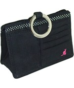 Pouchee Purse Organizer - Black Cotton
