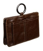 Pouchee Purse Organizer - Brown Leatherette
