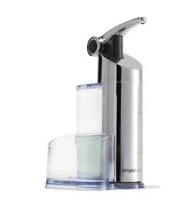Precision soap pump plastic storage caddy in soap dispensers - Soap pump caddy ...