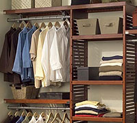 Ventilated Wood Closets