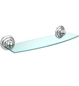 Prestige Beveled Glass Bath Shelf - 18 inches Image
