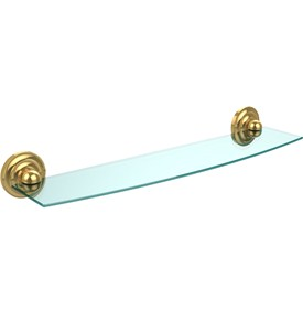 Prestige Beveled Glass Bath Shelf - 24 inches Image