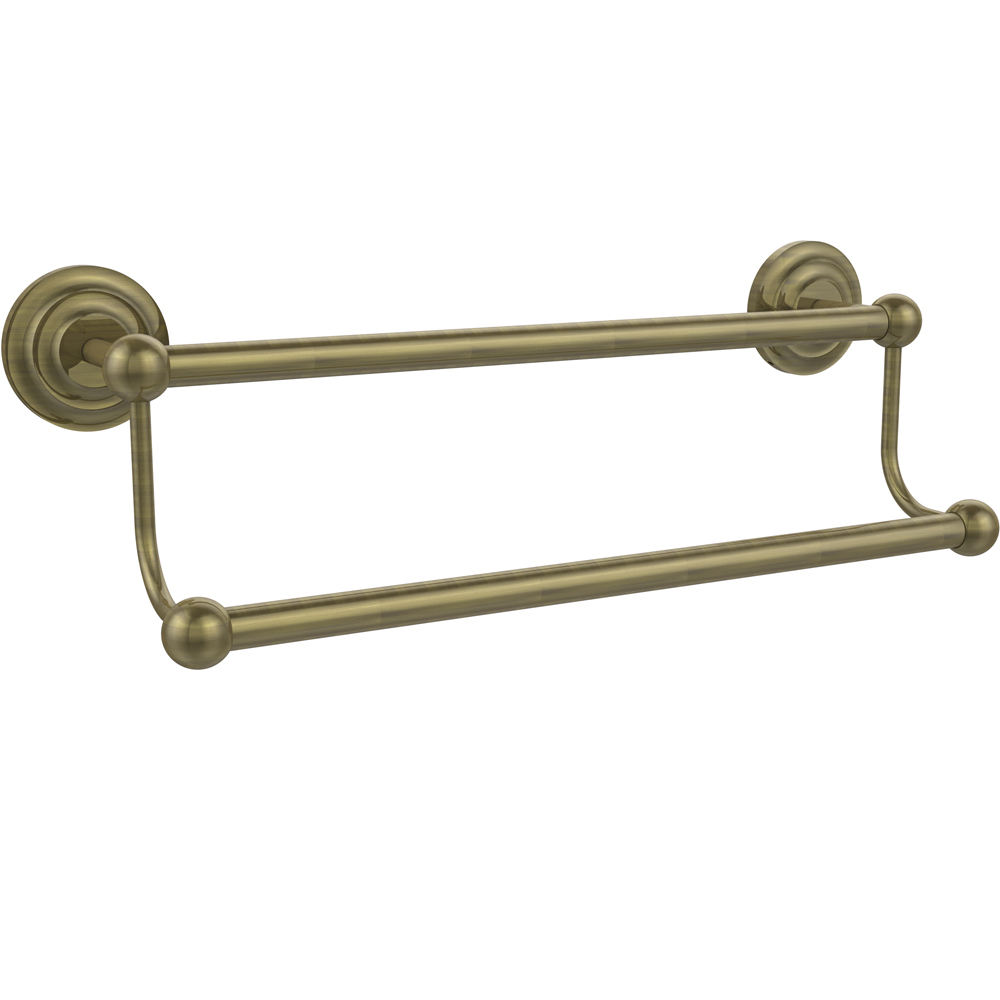 prestige double towel bar 18 inches in towel bars and rings. Black Bedroom Furniture Sets. Home Design Ideas