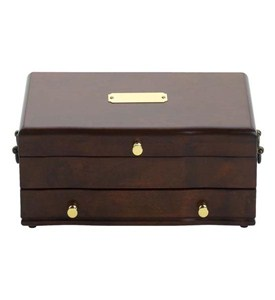 Princess Jewelry Case - Mahogany Image