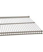 freedomRail 16 Inch Profile Wire Shelving - Nickel