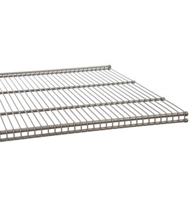 freedomRail 20 Inch Profile Wire Shelving - Nickel Image