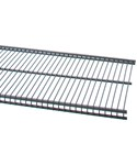freedomRail 12 IN Profile Wire Shelving - Granite