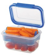 Progressive Snap-Lock Snack Container