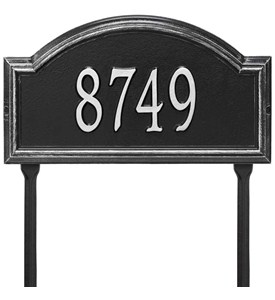 Providence Arch Lawn Address Sign Image