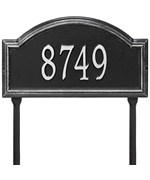 Providence Arch Lawn Address Sign